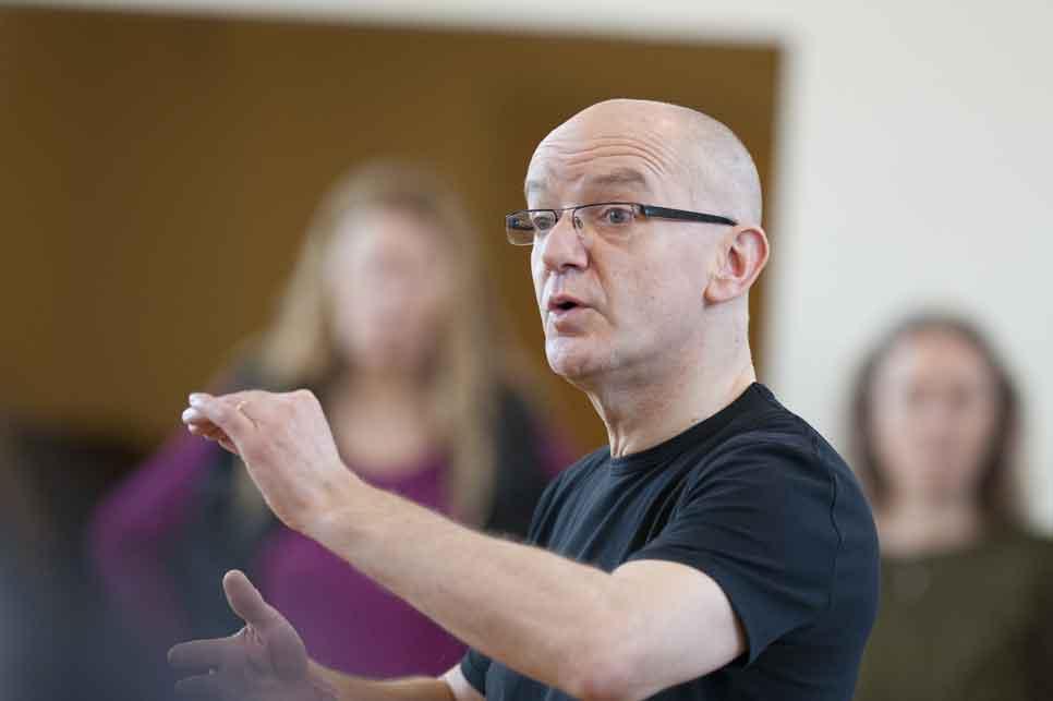 Master workshop en concert 'Christmas Oratorio' Bob Chilcott