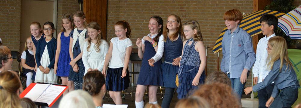 zomeroptreden kinderkoor koorschool delft