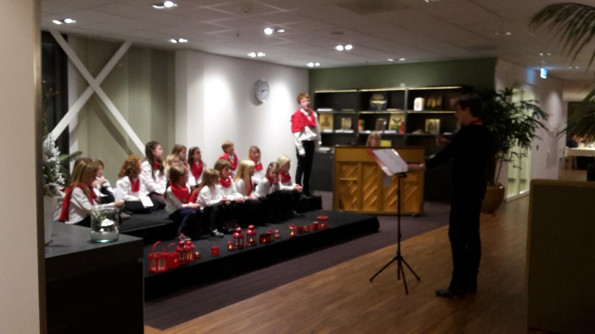 Koorschool Delft optreden kloorklassen Reinier de Graaf ziekenhuis