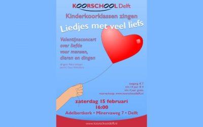 Valentijnsconcert: liedjes met veel liefs